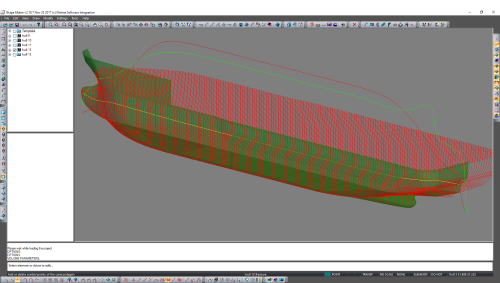 Optimization of hull shape